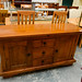 E225 solid dark wood sideboard