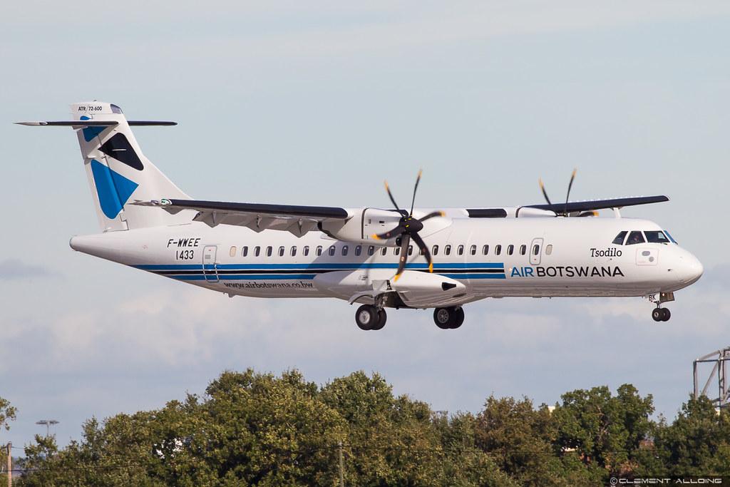 Air Botswana ATR 72-600 (72-212A) cn 1433 F-WWEE // A2-ABK