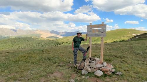 colorado chfstew coloradotrail segment8 hiking landscape cosummitcounty mountainsquid