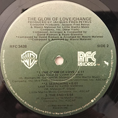 CHANGE:THE GLOW OF LOVE(LABEL SIDE-B)
