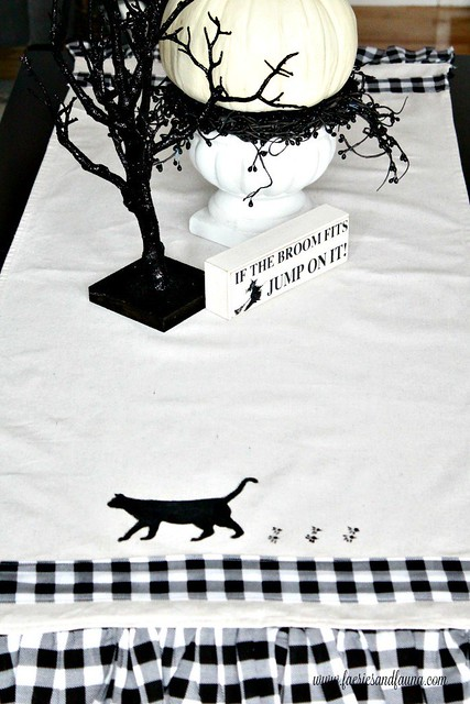 Halloween-Decor-idea.-a-handmade-table-runner-with-a-black-cat