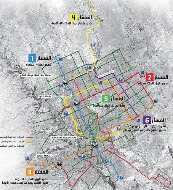 3560 Riyadh Metro with 6 lines, which areas would it cover in Riyadh 001