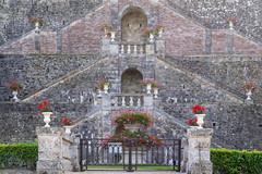 Escaliers du Château de Sassy (2) - Photo of Avoine