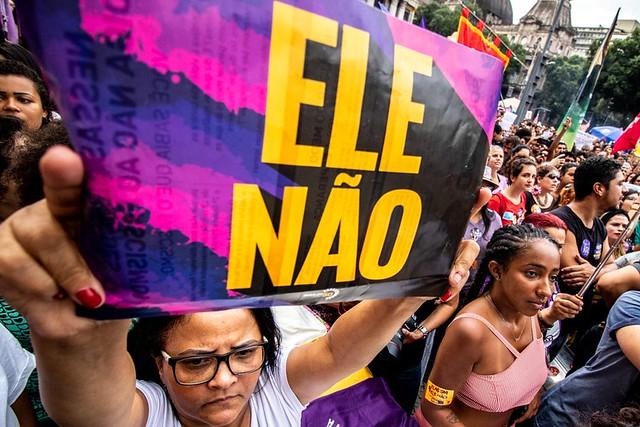 """Foto da matéria """"Estudante é atacada por eleitor de Bolsonaro no Rio de Janeiro"""""""