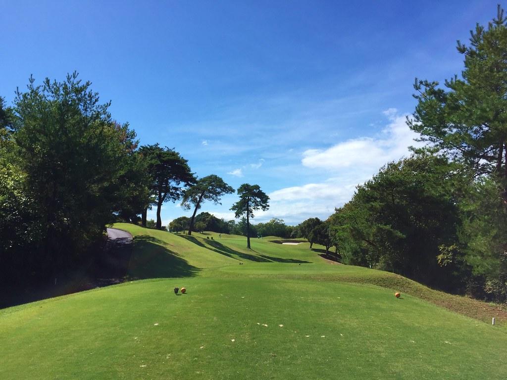 岡山空港ゴルフコース 17番
