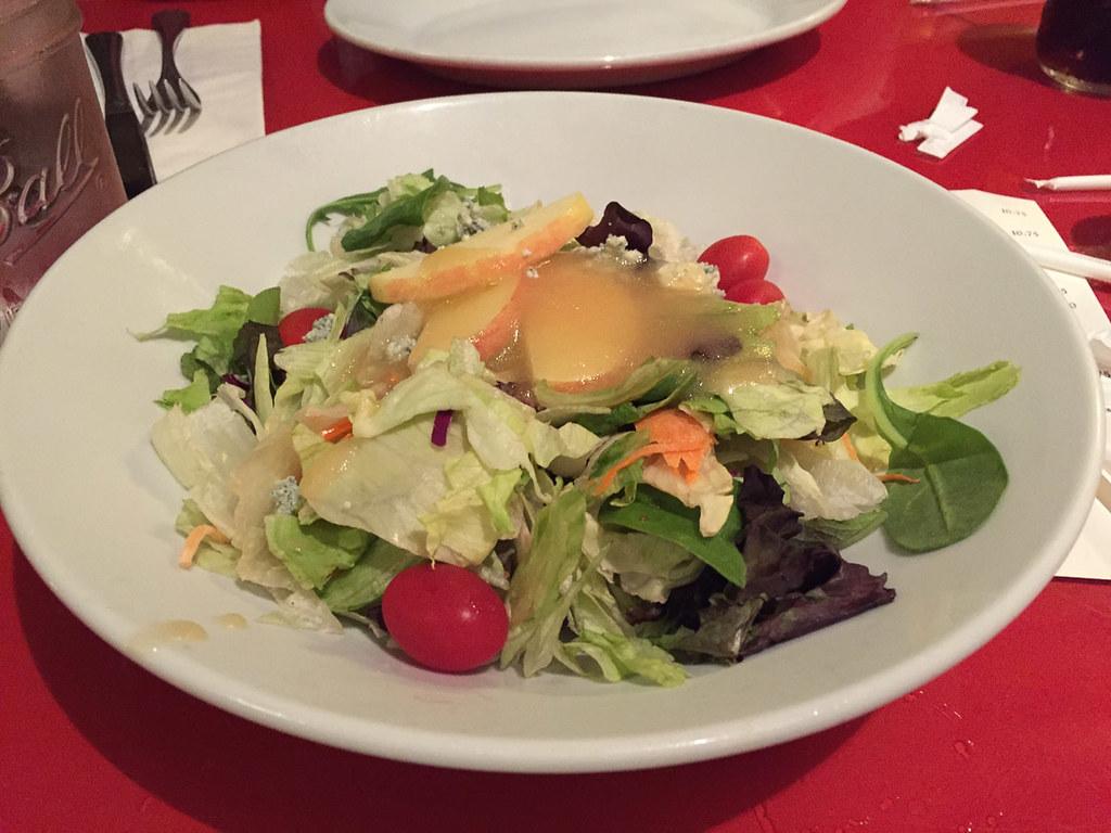 Salad at Whispering Canyon Cafe