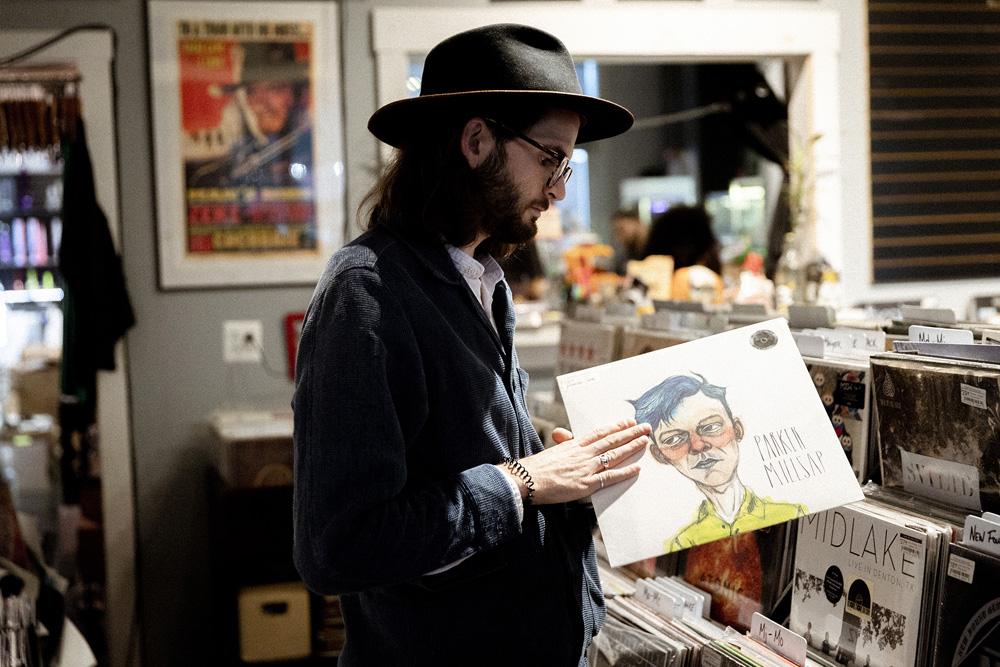 Record Shopping with Hudson Taylor at Creep Records