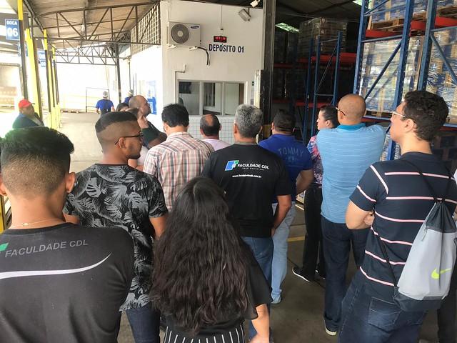 Visita Técnica ao Centro de Distribuição da Betânia Lácteos em Fortaleza (19/10/2018)
