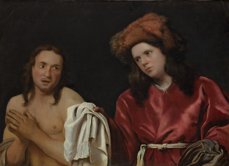 Michiel Sweerts - Clothing the Naked (c.1661)