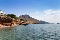 Swimming in Hydra Greece
