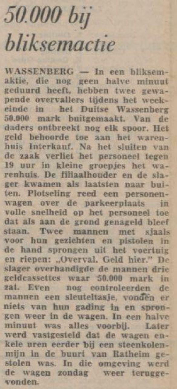 SleuteltasjeLimburgsDagblad19760127Dinsdag