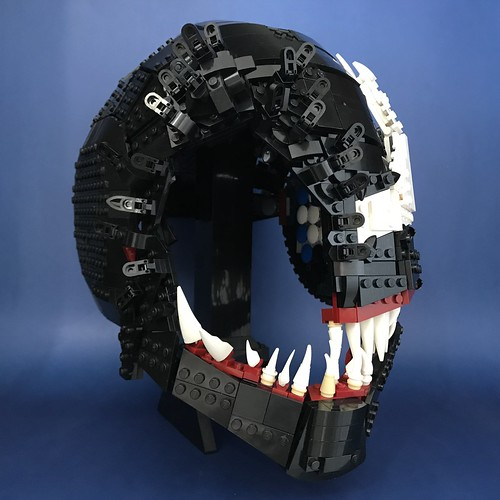 We Are Venom Wearable Lego Helmet