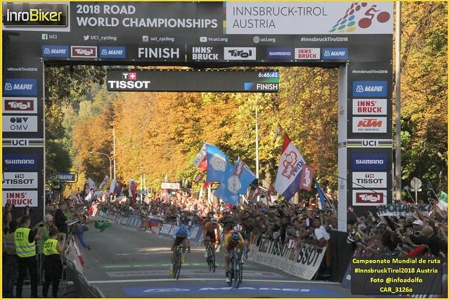Mundial de ruta Innsbruck - Domingo