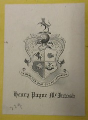 Penn Libraries PS3201 1876a: Bookplate/Label