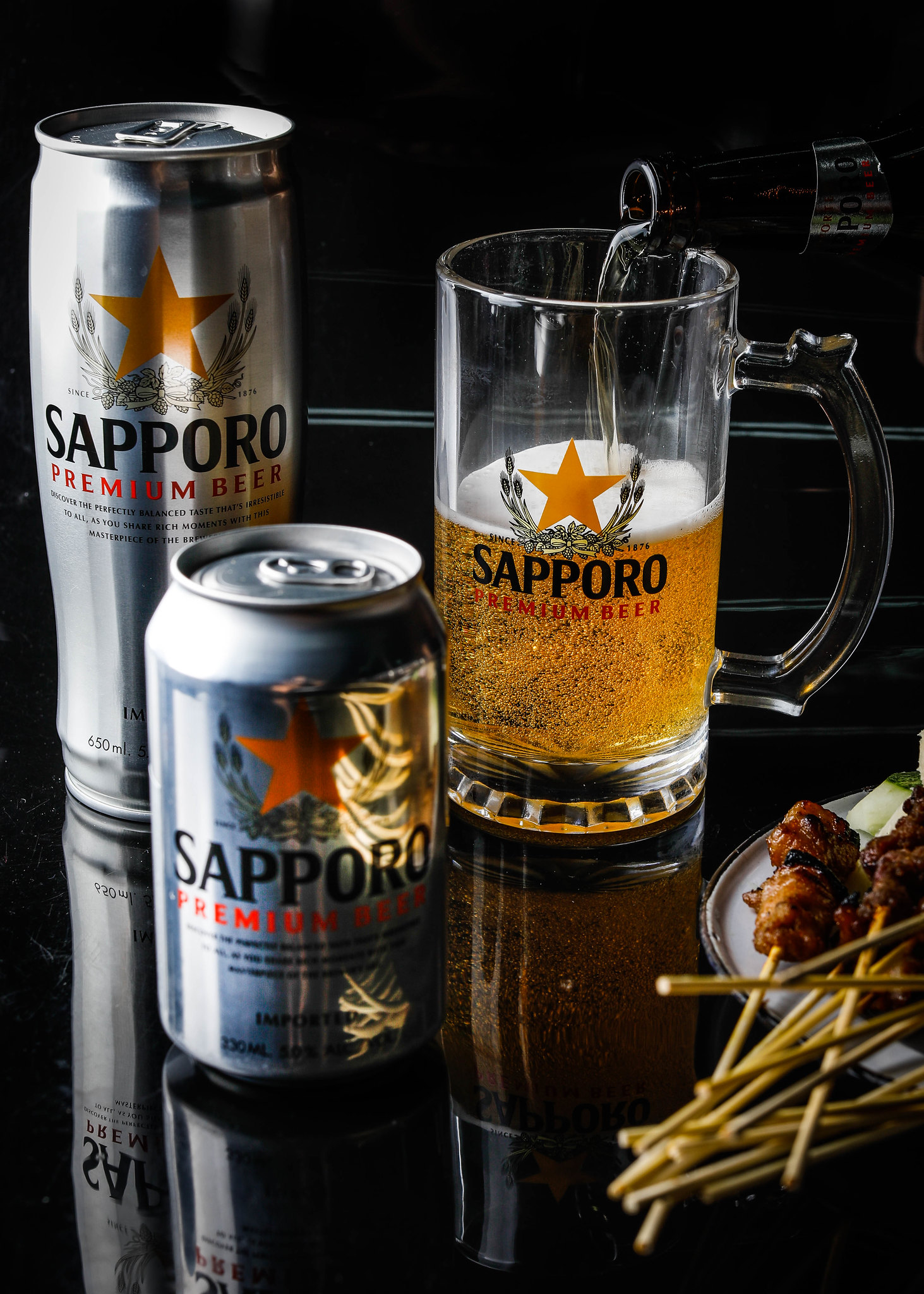 Assorted Sapporo Premium Beer