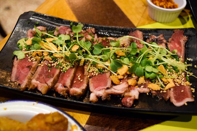 Beef Tataki at Nanban, Brixton
