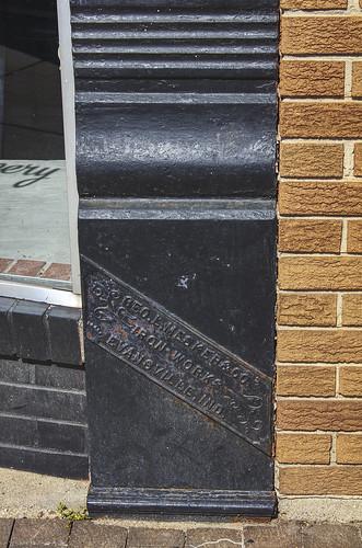 Grayville, IL Geo. L. Mesker & Co. plaque