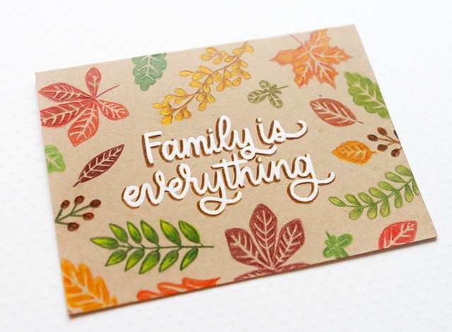 family is everything close up