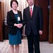 President Nakao, People's Republic of China Vice Finance Minister meet