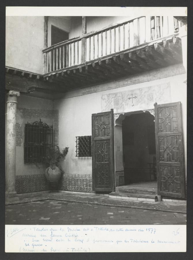 Casa del Greco. Fotografía de Yvonne Chevalier en 1949 © Roger Viollet