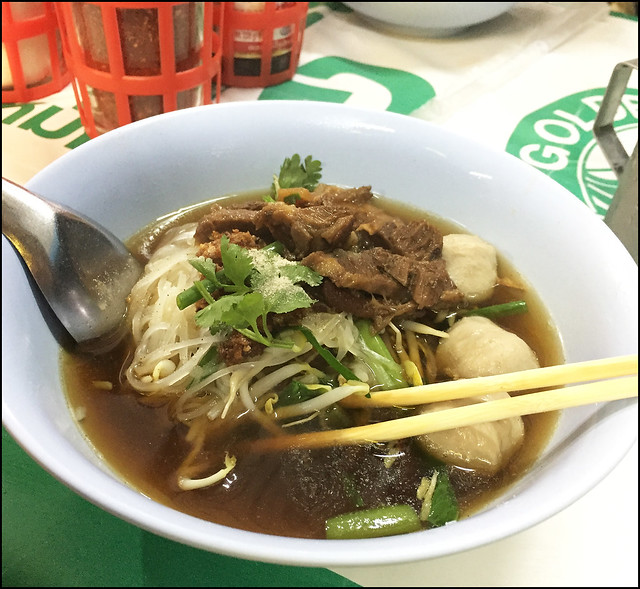 Beef Noodles in Krabi Town