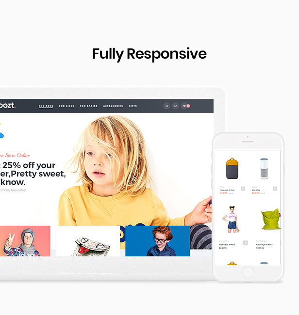 shopify theme premium - Mobile optimized design