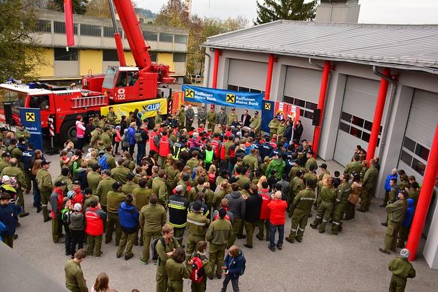 41. Feuerwehr-Jugendwandertag im Bezirk Urfahr Umgebung  26. 10. 2018