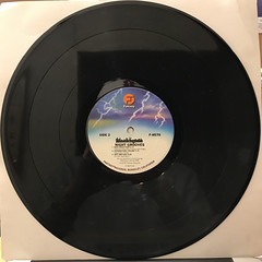 THE BLACKBYRDS:NIGHT GROOVES(RECORD SIDE-B)