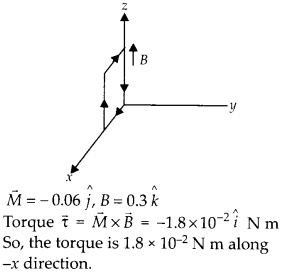 NCERT Solutions for Class 12 Physics Chapter 4 Moving Charges and Magnetism 46