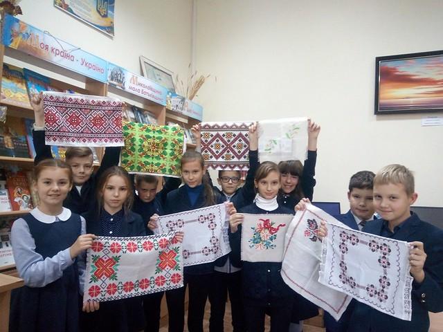 Міська акція «Запали надію в серці» в Першій українській гімназії