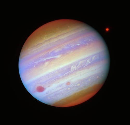 Jupiter in Five Filters