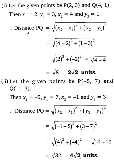 NCERT Solutions for Class 10 Maths Chapter 7 Coordinate Geometry 1