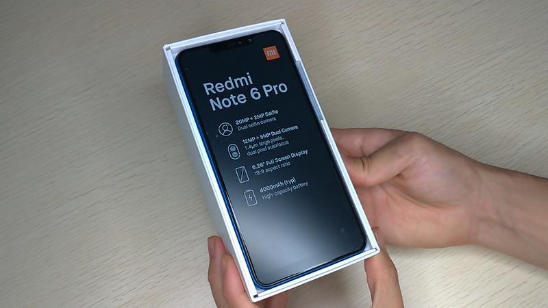 Xiaomi Redmi Note 6 Pro 開封 (5)