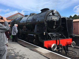 46100 Royal Scot at Kidderminster
