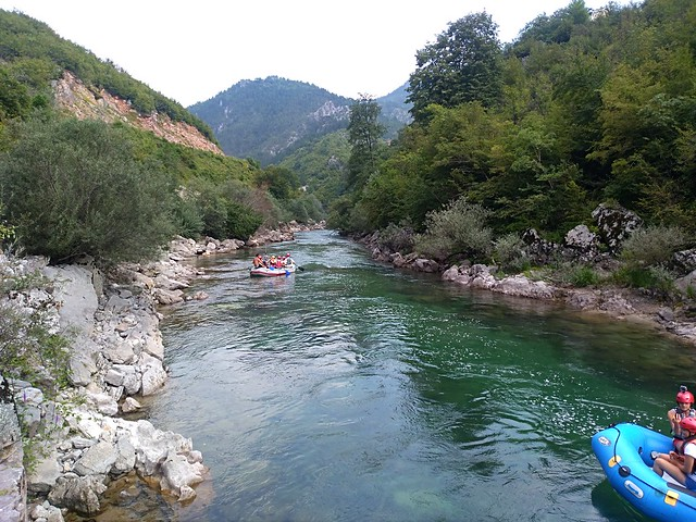 Feel the adrenaline on Neretva river