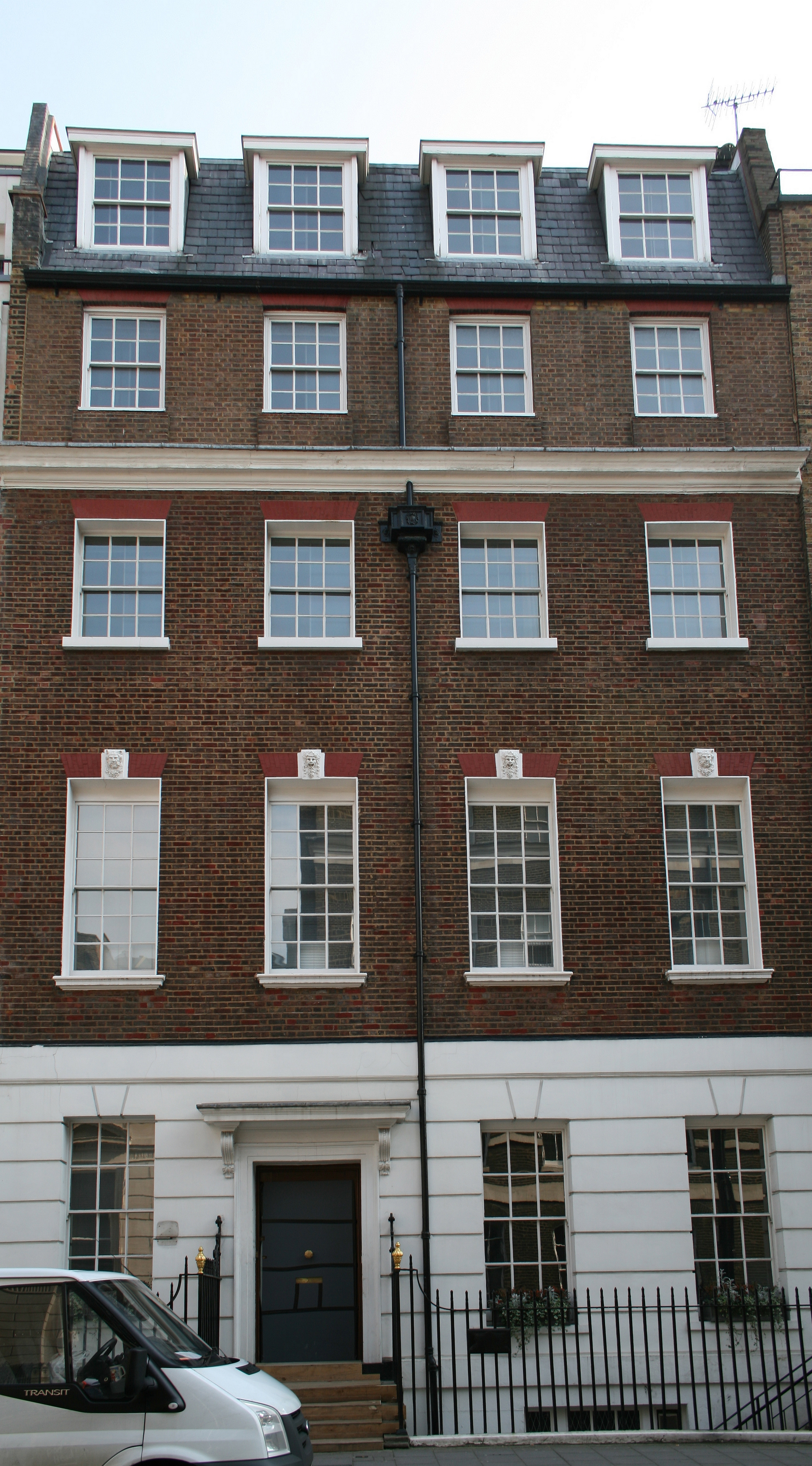 Apple Corps building at 3 Savile Row, London, site of the Let It Be rooftop concert. Photo taken on April 1, 2007.