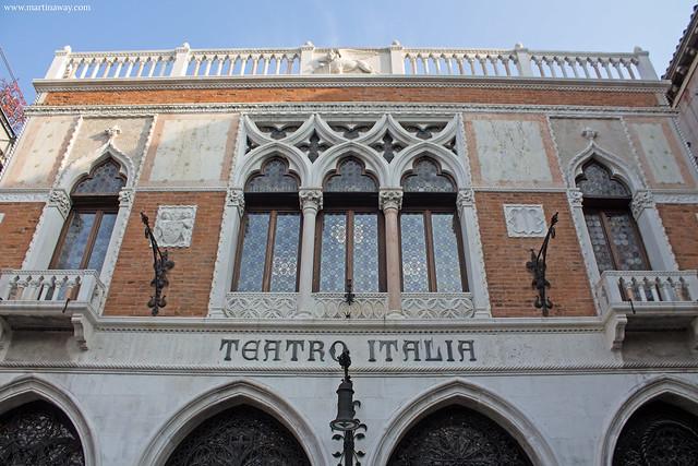 Teatro Italia: curiosità sul sestiere Cannaregio