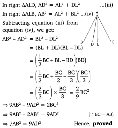 NCERT Solutions for Class 10 Maths Chapter 6 Triangles 87