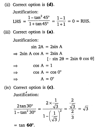 NCERT Solutions for Class 10 Maths Chapter 8 Introduction to Trigonometry 23