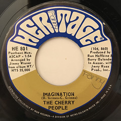 THE CHERRY PEOPLE:AND SUDDENLY(LABEL SIDE-B)