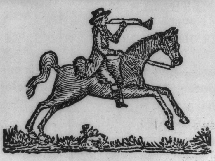 Postal riders were an essential part of mail delivery in Colonial America and often faced harsh, injurious conditions.