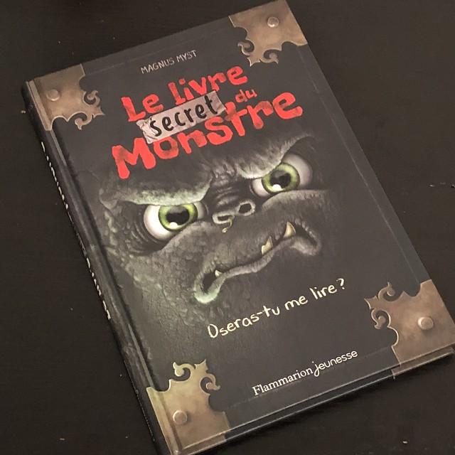 Le livre secret du monstre ; oseras-tu me lire ?