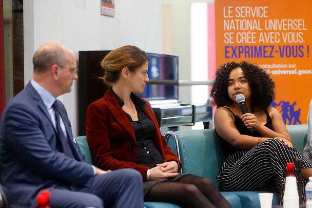 Service national universel: rencontre avec la jeunesse de Noisy-Le-Grand