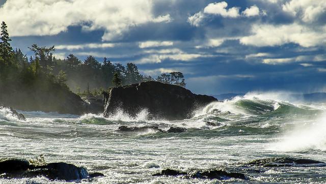 Waves of Lake Superior6