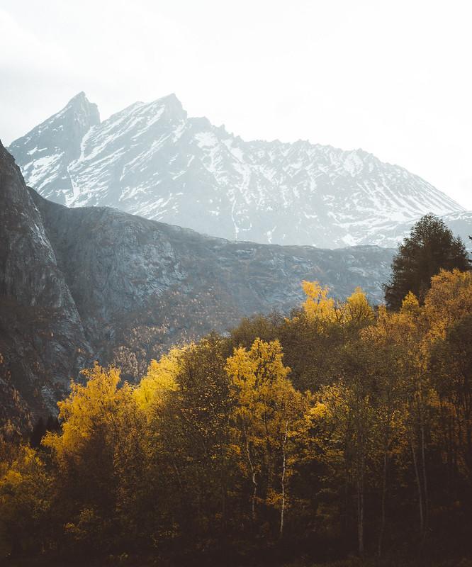 Peaks in Romsdalen