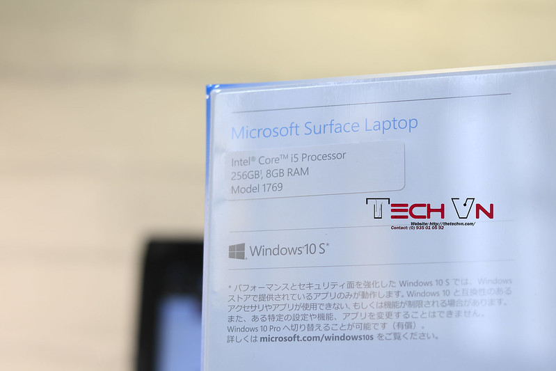 TECHVN - MICROSOFT SURFACE LAPTOP I5 01