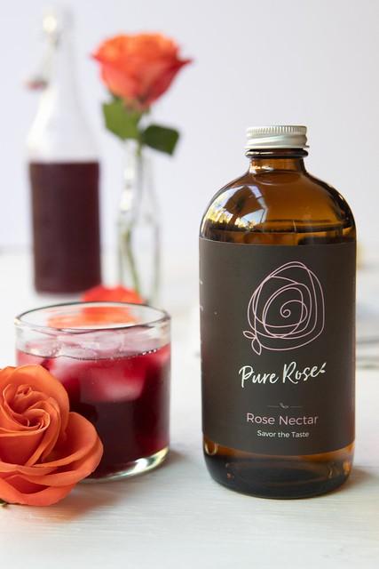 pure rose nectar hibiscus lemonade