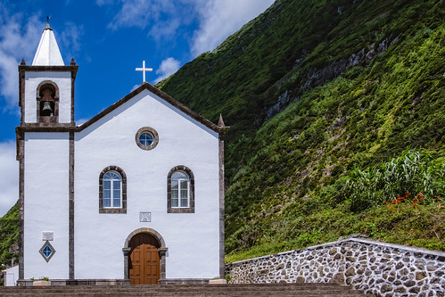 Azorean Church - Azores Islands