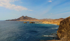 Isleta del Moro (Cabo de Gata), Panoramica de 9 images