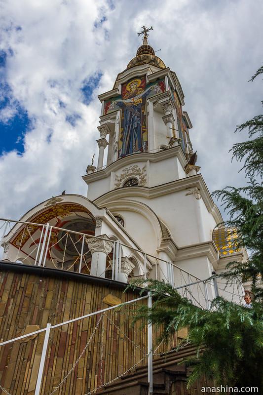 Храм Николая Чудотворца Мирликийского, Малореченское, Крым